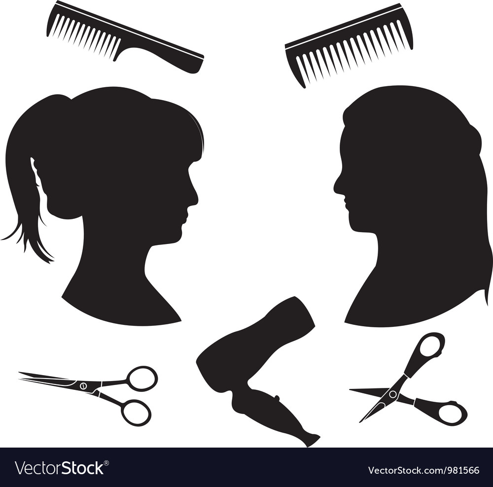 Hairdressing 2 vector | Price: 1 Credit (USD $1)