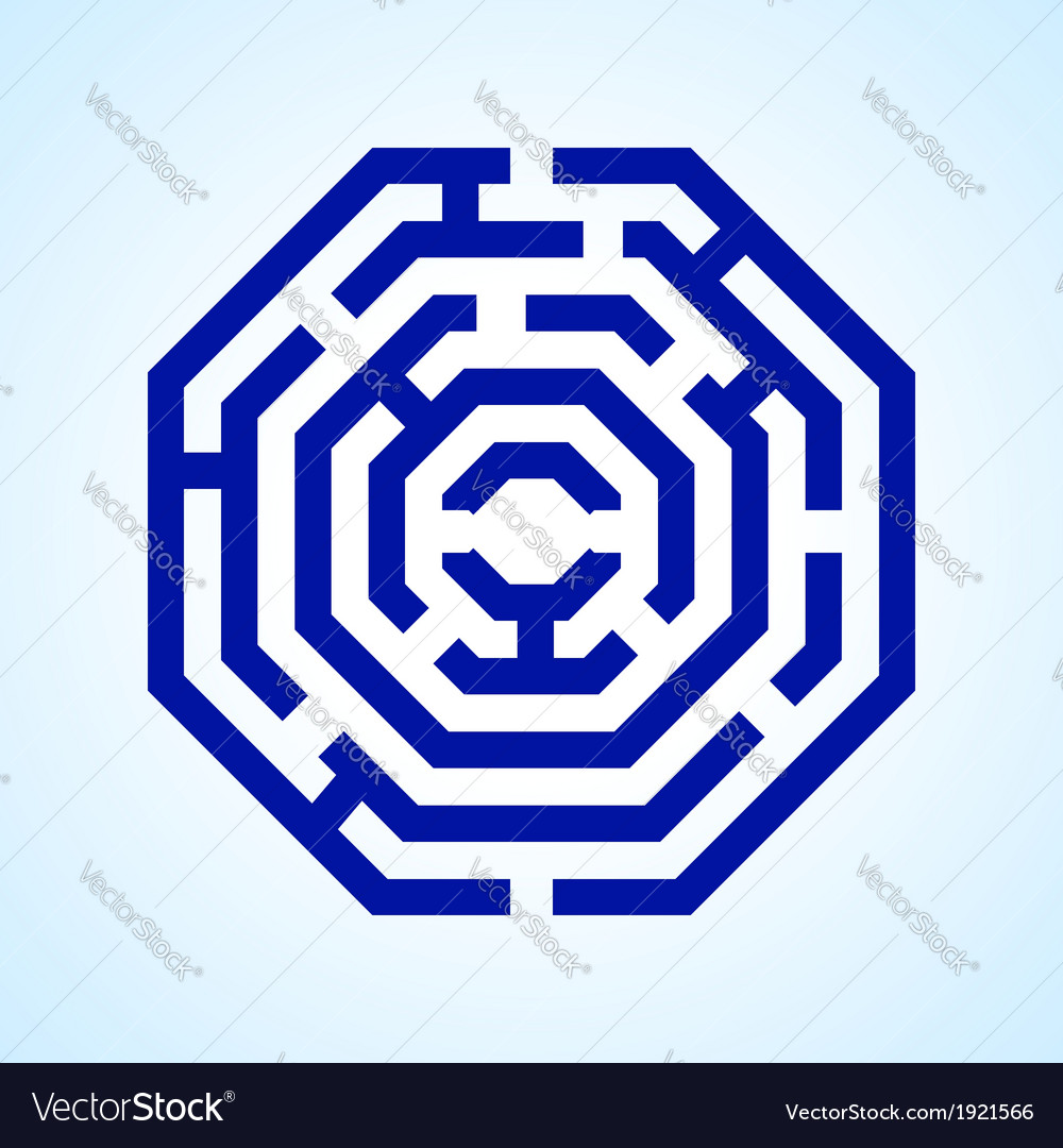 Labyrinth vector | Price: 1 Credit (USD $1)