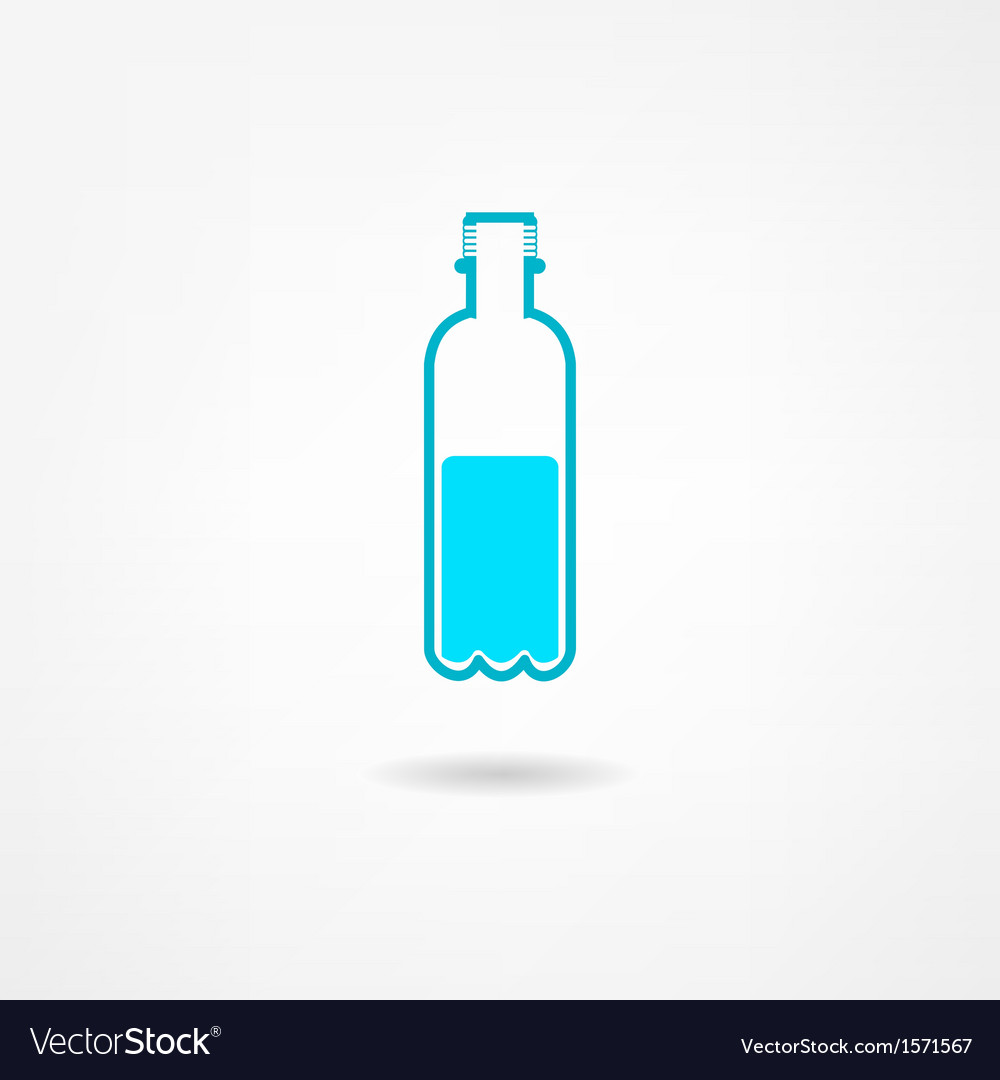 Fresh water icon vector | Price: 1 Credit (USD $1)