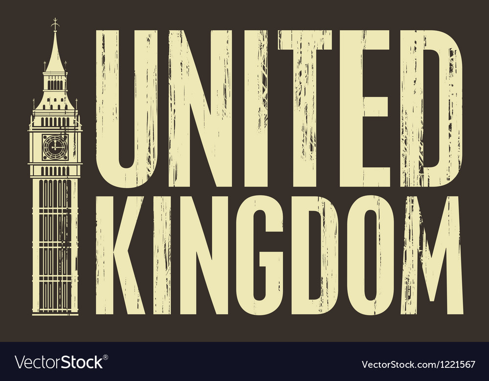 United kingdom vector | Price: 1 Credit (USD $1)