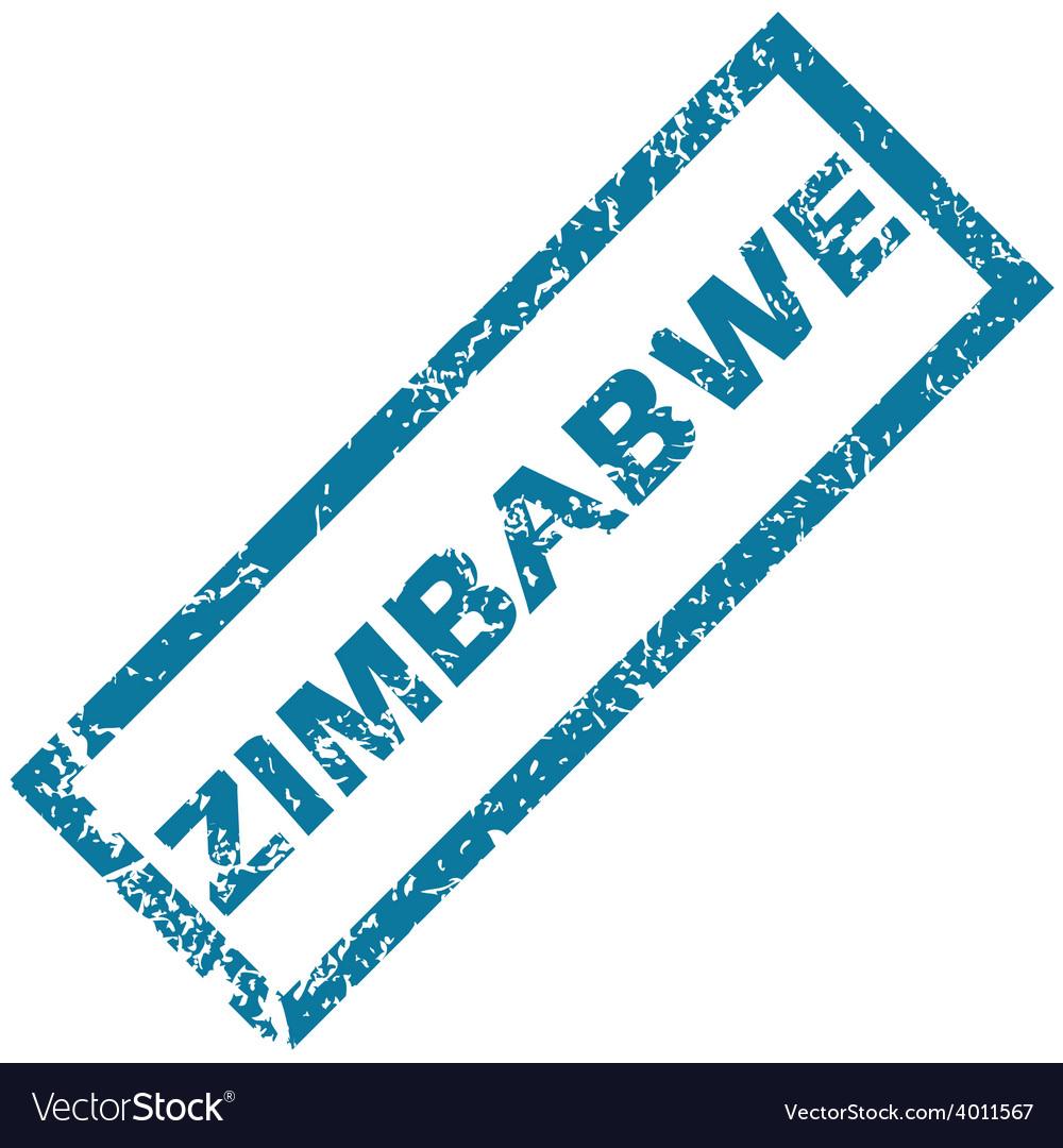 Zimbabwe rubber stamp vector | Price: 1 Credit (USD $1)