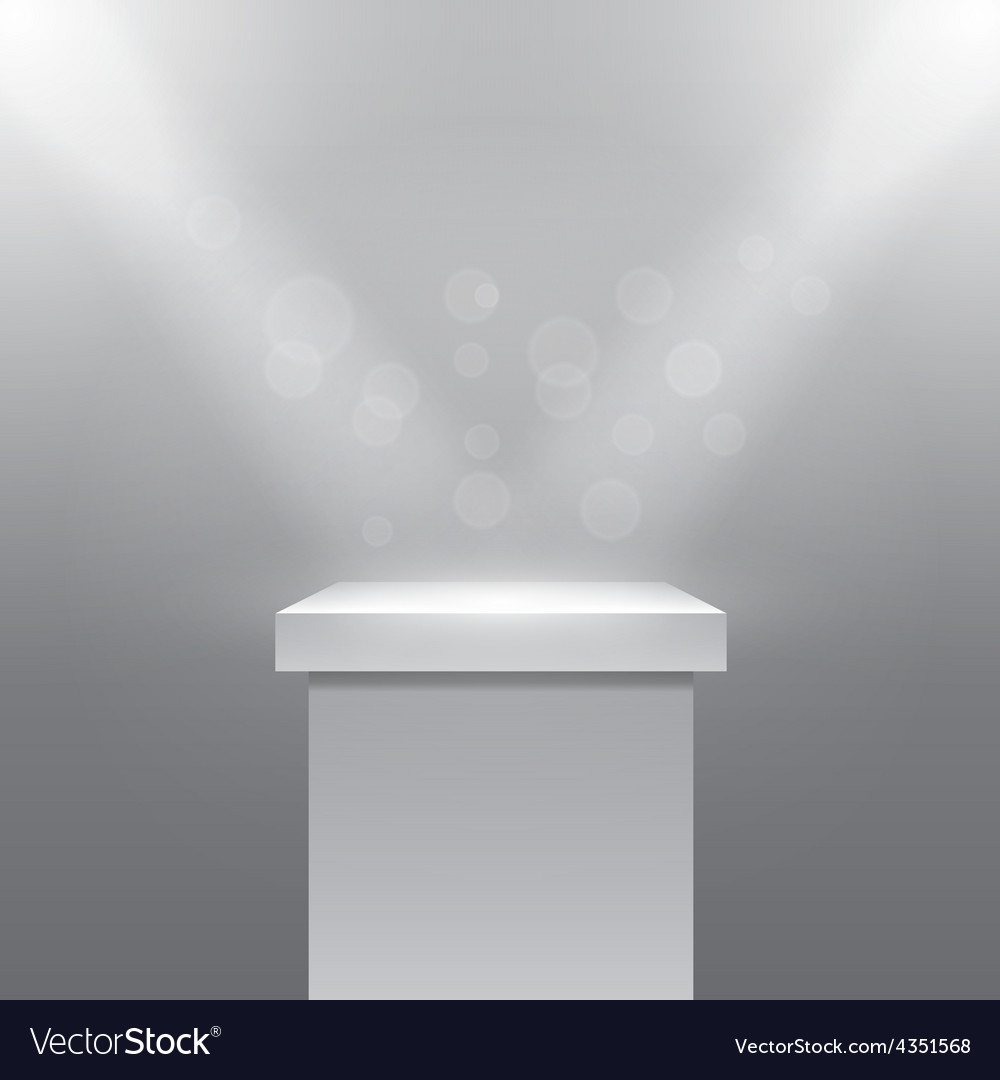 Pedestal vector | Price: 1 Credit (USD $1)