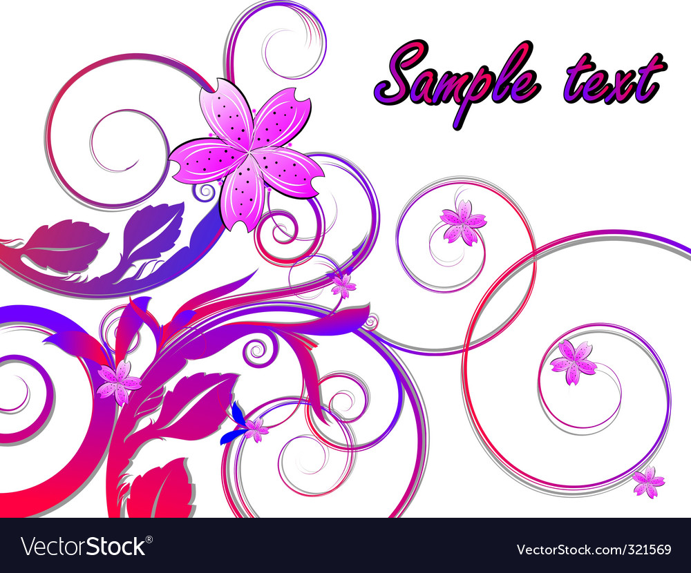 Flowers arrangement vector | Price: 1 Credit (USD $1)