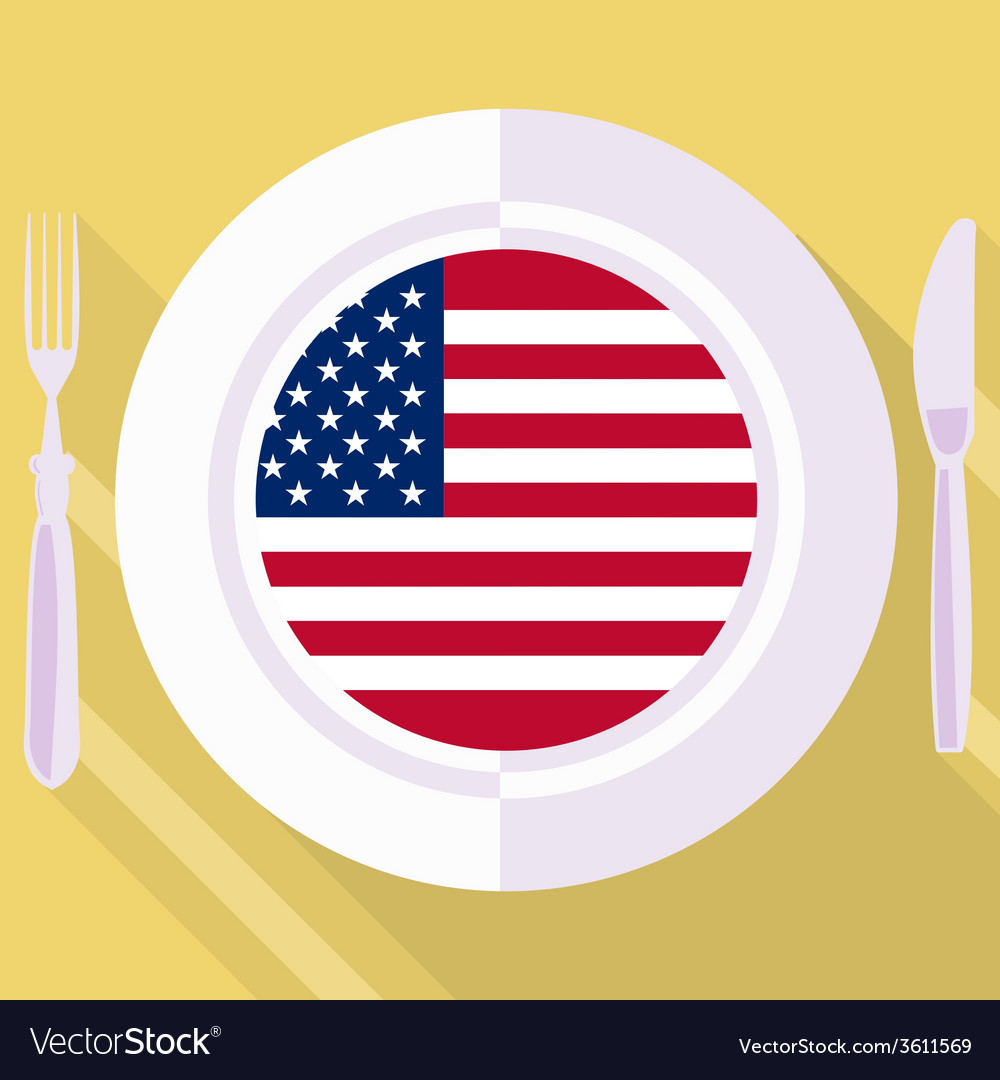 Kitchen of united states vector | Price: 1 Credit (USD $1)