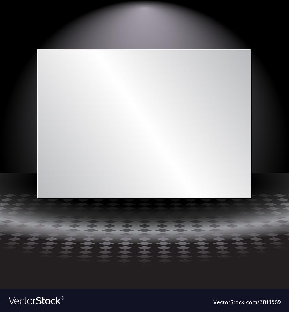 Light banner vector | Price: 1 Credit (USD $1)