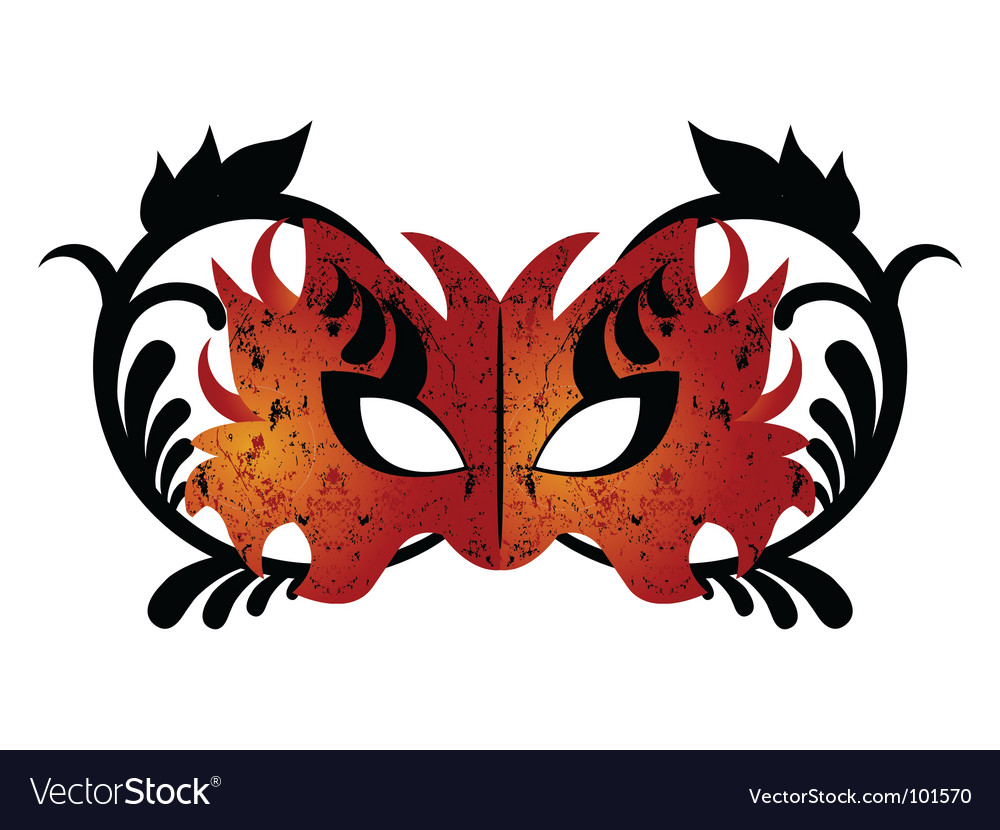 Graphic mask vector | Price: 1 Credit (USD $1)