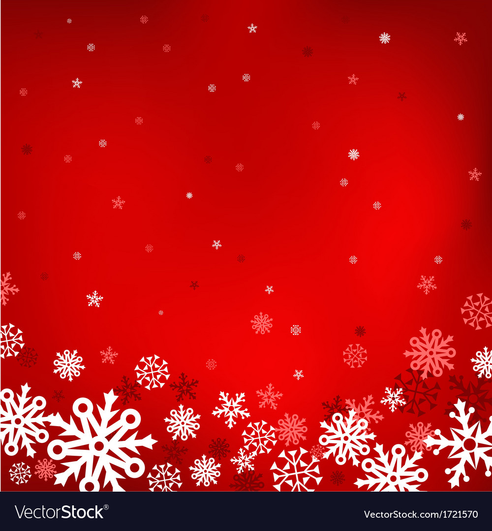 Red snow mesh background vector | Price: 1 Credit (USD $1)