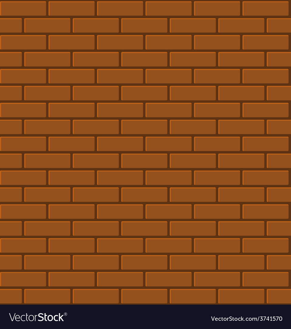 Seamless pattern of red brick vector   Price: 1 Credit (USD $1)