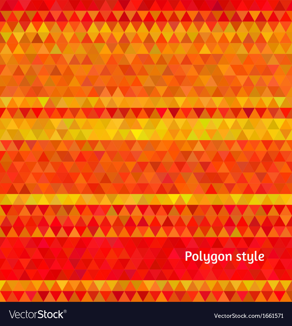 Abstract background polygon mosaic style vector | Price: 1 Credit (USD $1)