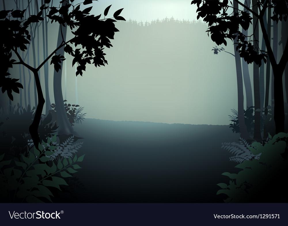 Dark forest vector | Price: 1 Credit (USD $1)