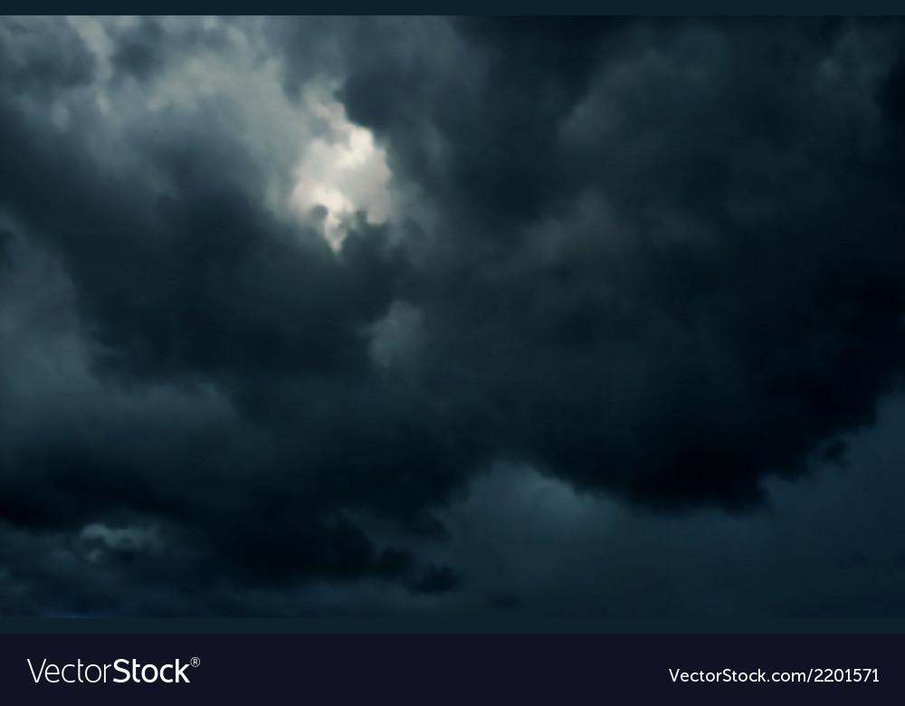 Dark skies vector | Price: 1 Credit (USD $1)