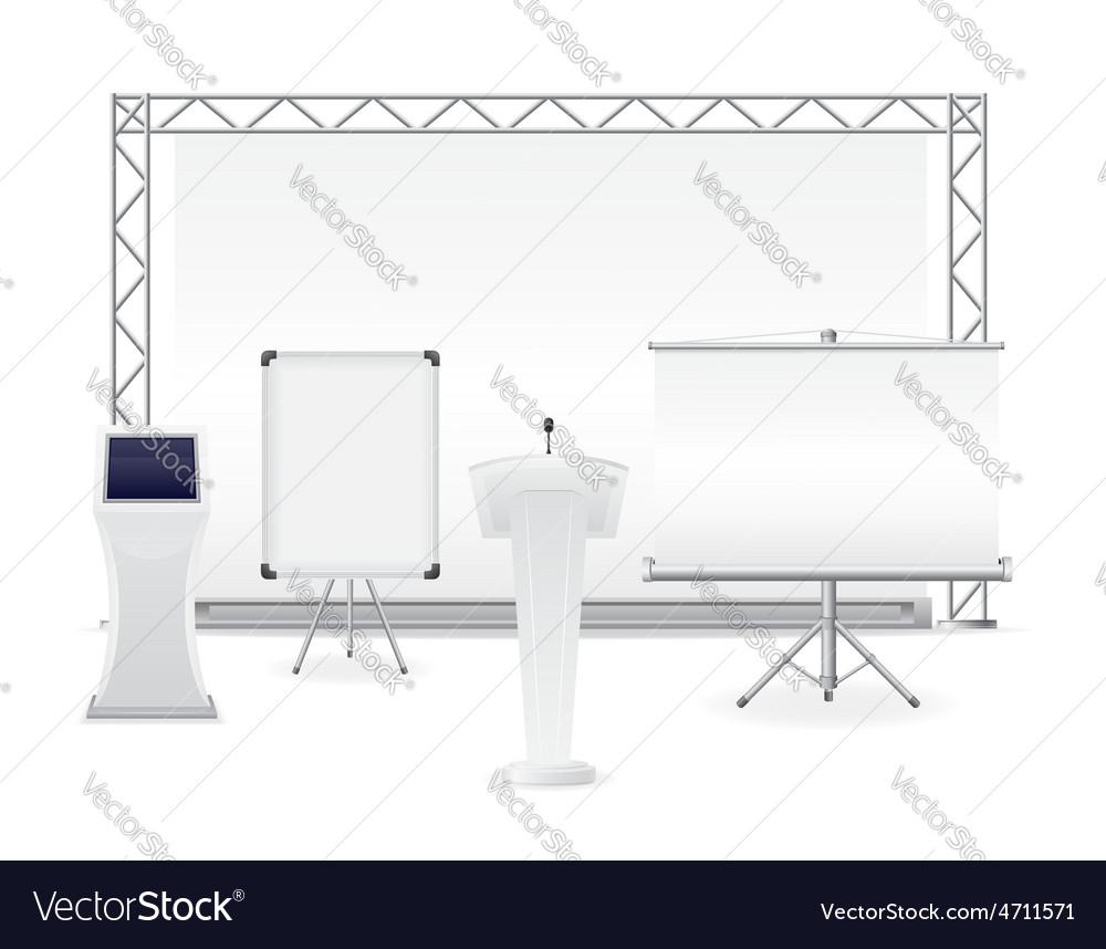 Exhibition complex vector | Price: 1 Credit (USD $1)