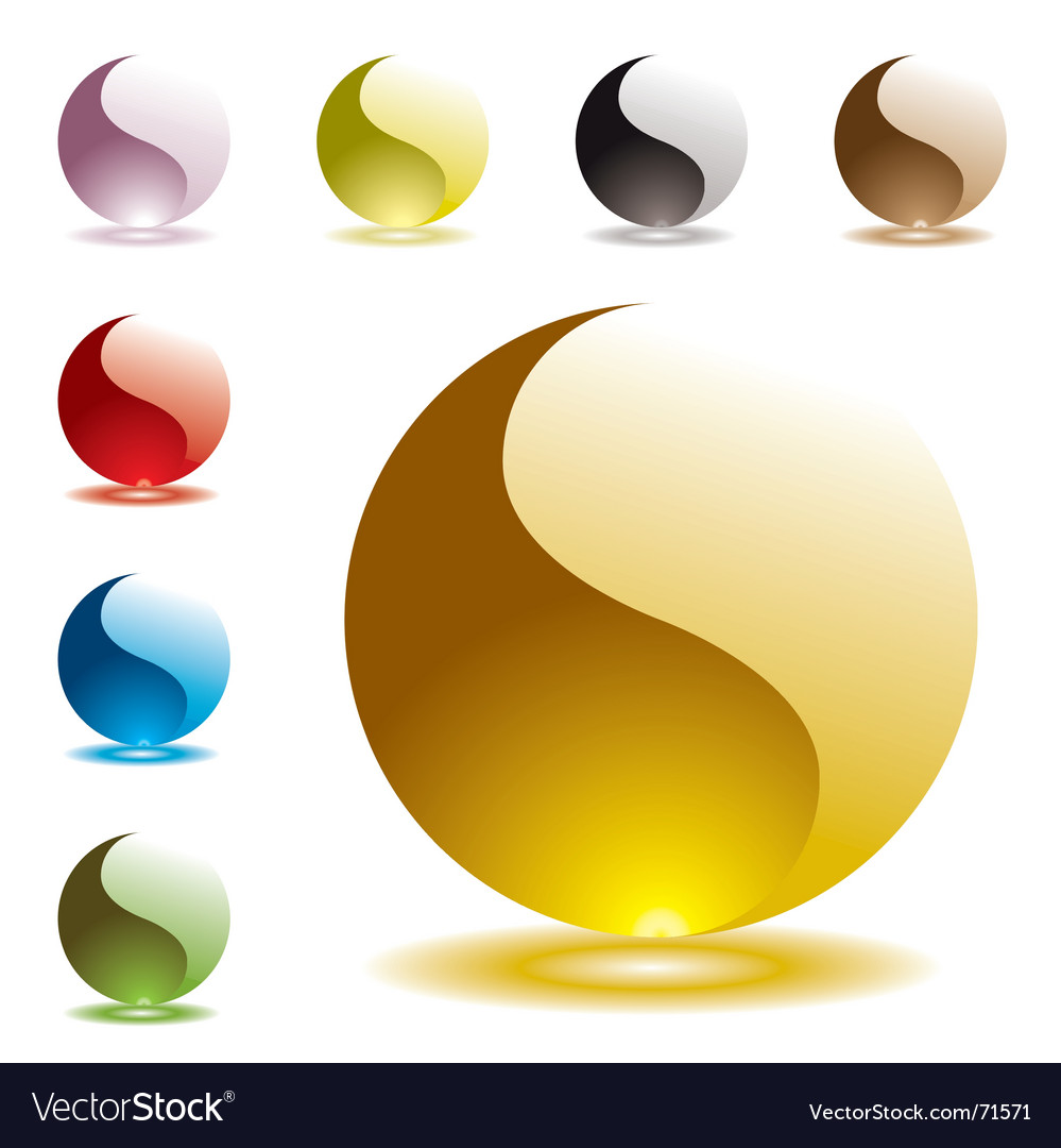 Gel marbles vector | Price: 1 Credit (USD $1)