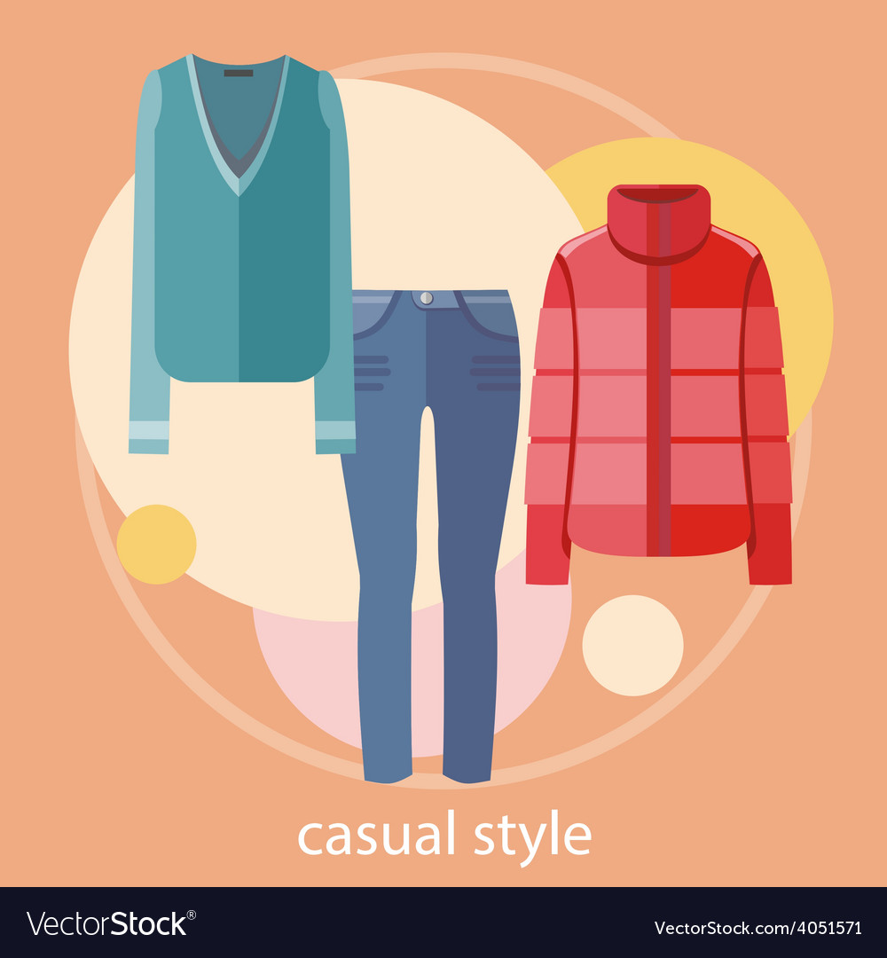 Set of summer and autumn dresses for office vector | Price: 1 Credit (USD $1)