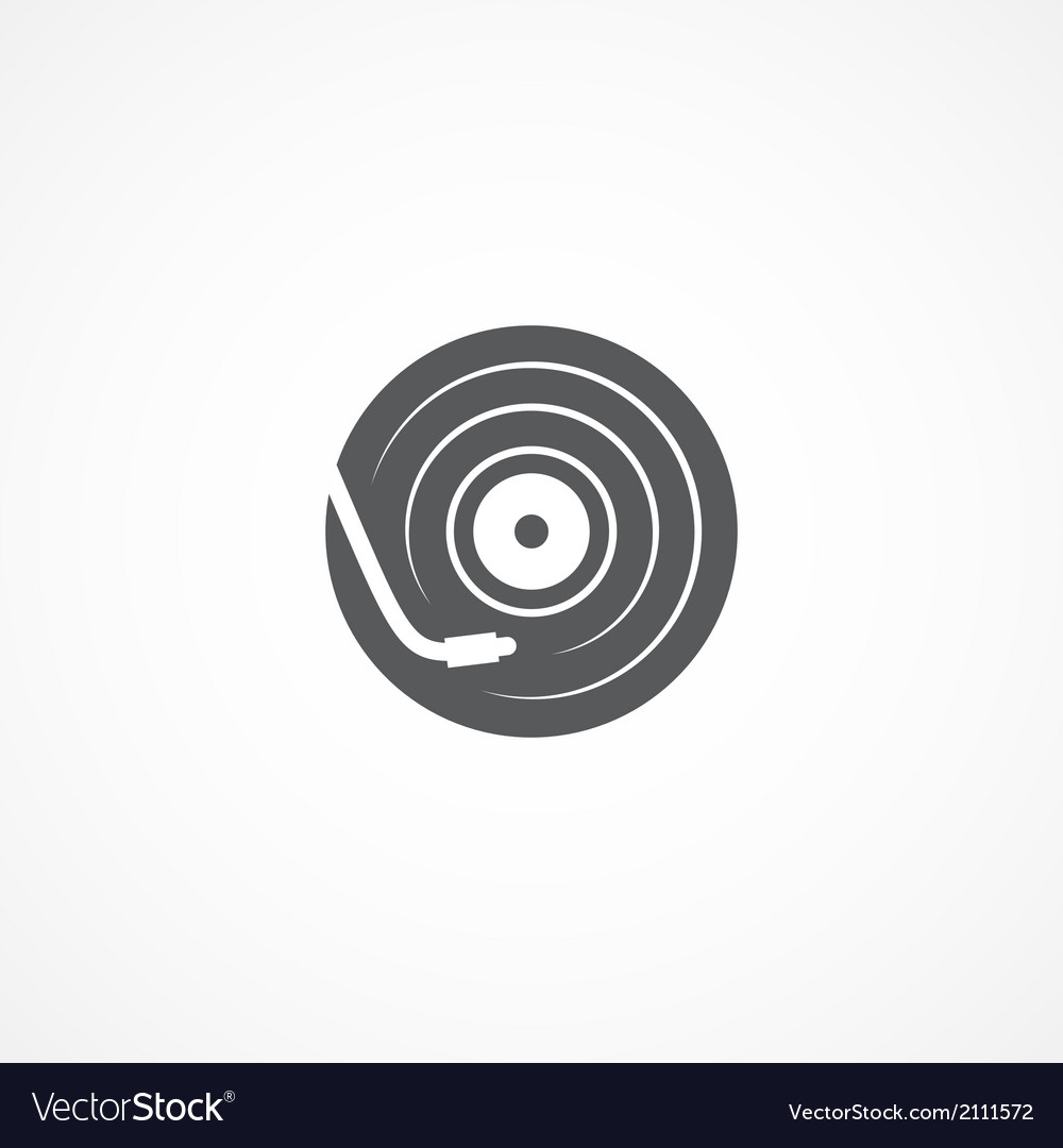 Dj icon vector | Price: 1 Credit (USD $1)