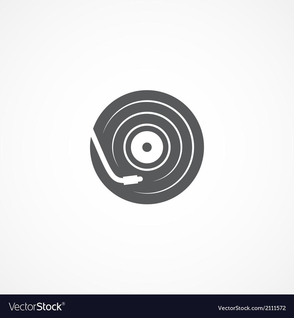 Dj icon vector | Price: 1 Credit (USD $1)