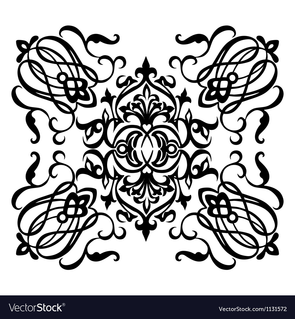 Ornamental motif vector | Price: 1 Credit (USD $1)