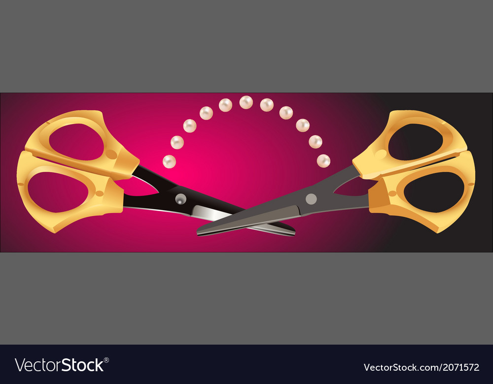 Scissors - 4 vector | Price: 1 Credit (USD $1)