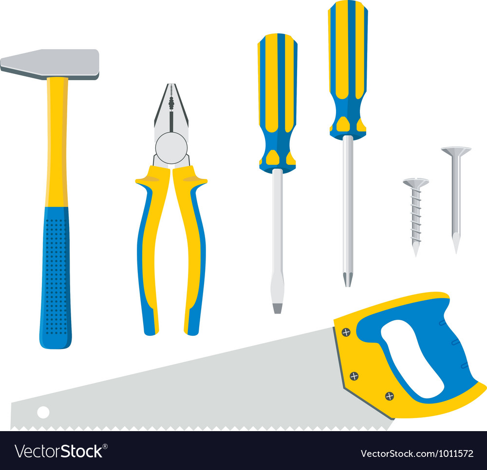 Tool kit for repair vector | Price: 1 Credit (USD $1)