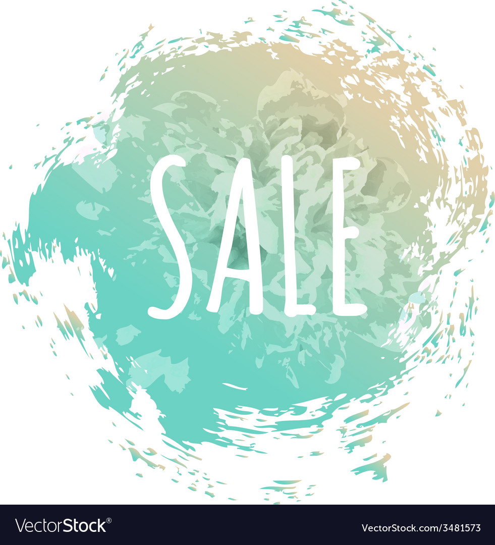 Blue sale poster vector | Price: 1 Credit (USD $1)