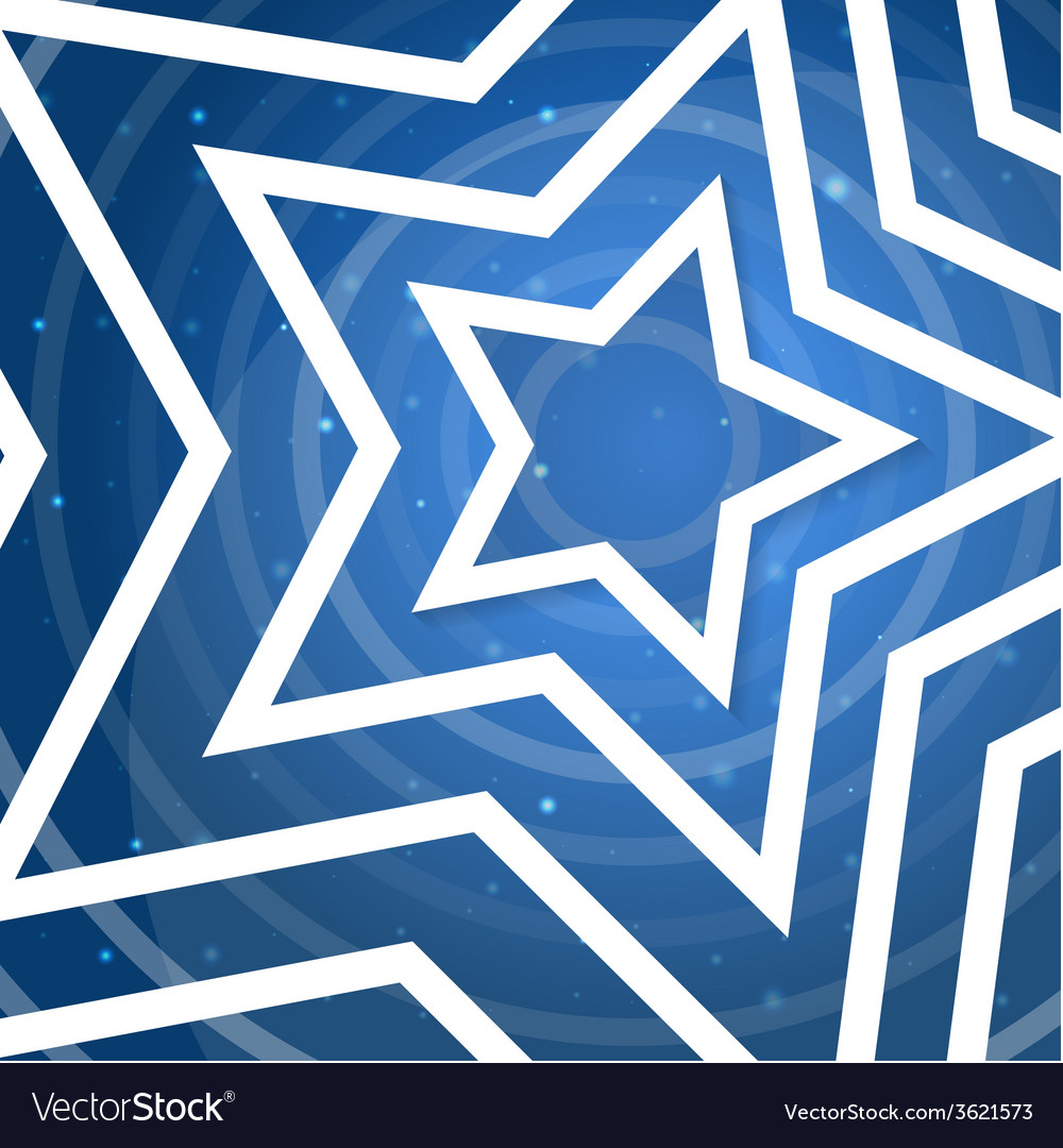 White star application on blue background f vector | Price: 1 Credit (USD $1)