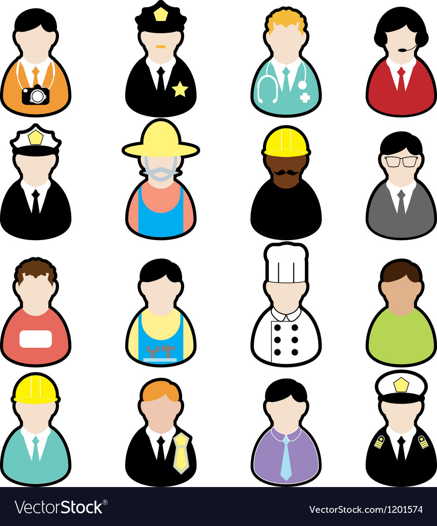 Jobs set01 vector | Price: 1 Credit (USD $1)