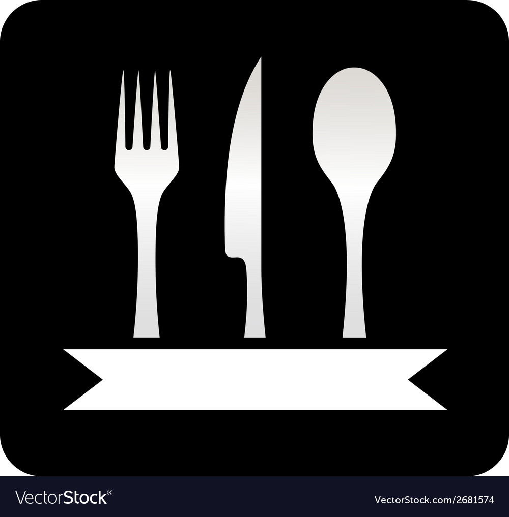 Kitchen utensil black icon vector | Price: 1 Credit (USD $1)