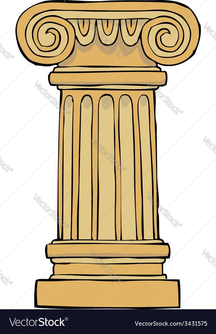 Column pedestal vector   Price: 1 Credit (USD $1)