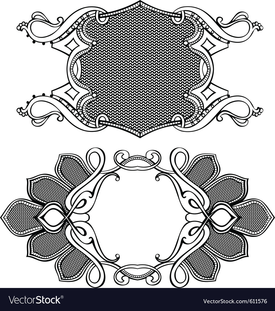 Antique styles vector | Price: 1 Credit (USD $1)