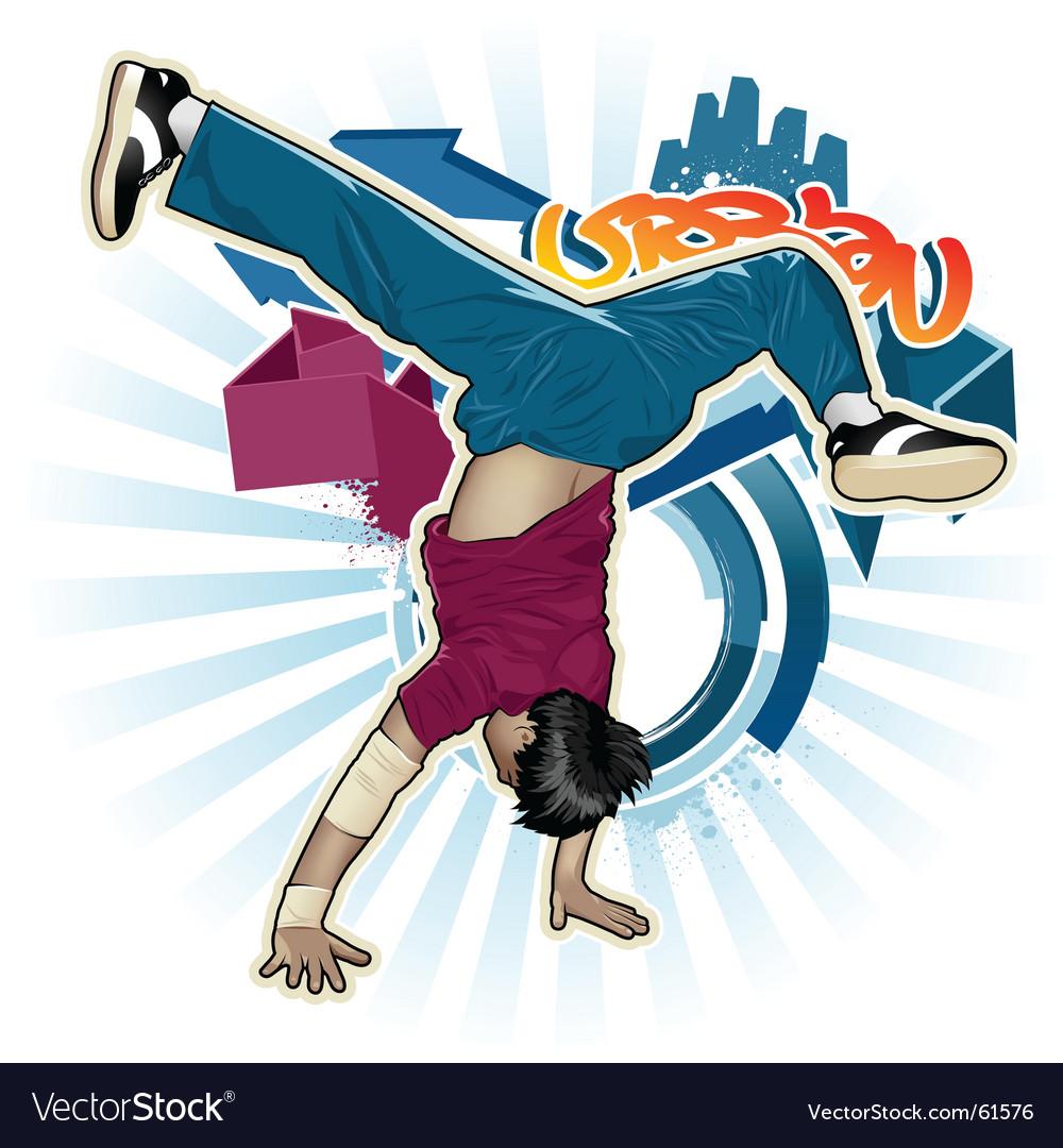 Breakdance vector | Price: 5 Credit (USD $5)