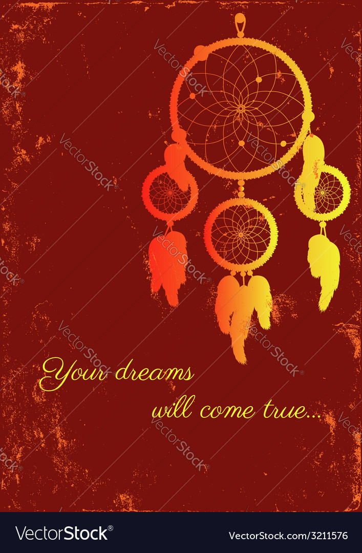 Fire dream catcher vector | Price: 1 Credit (USD $1)
