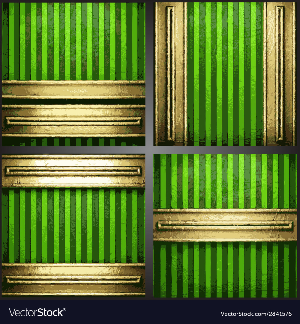 Green background with gold vector   Price: 1 Credit (USD $1)