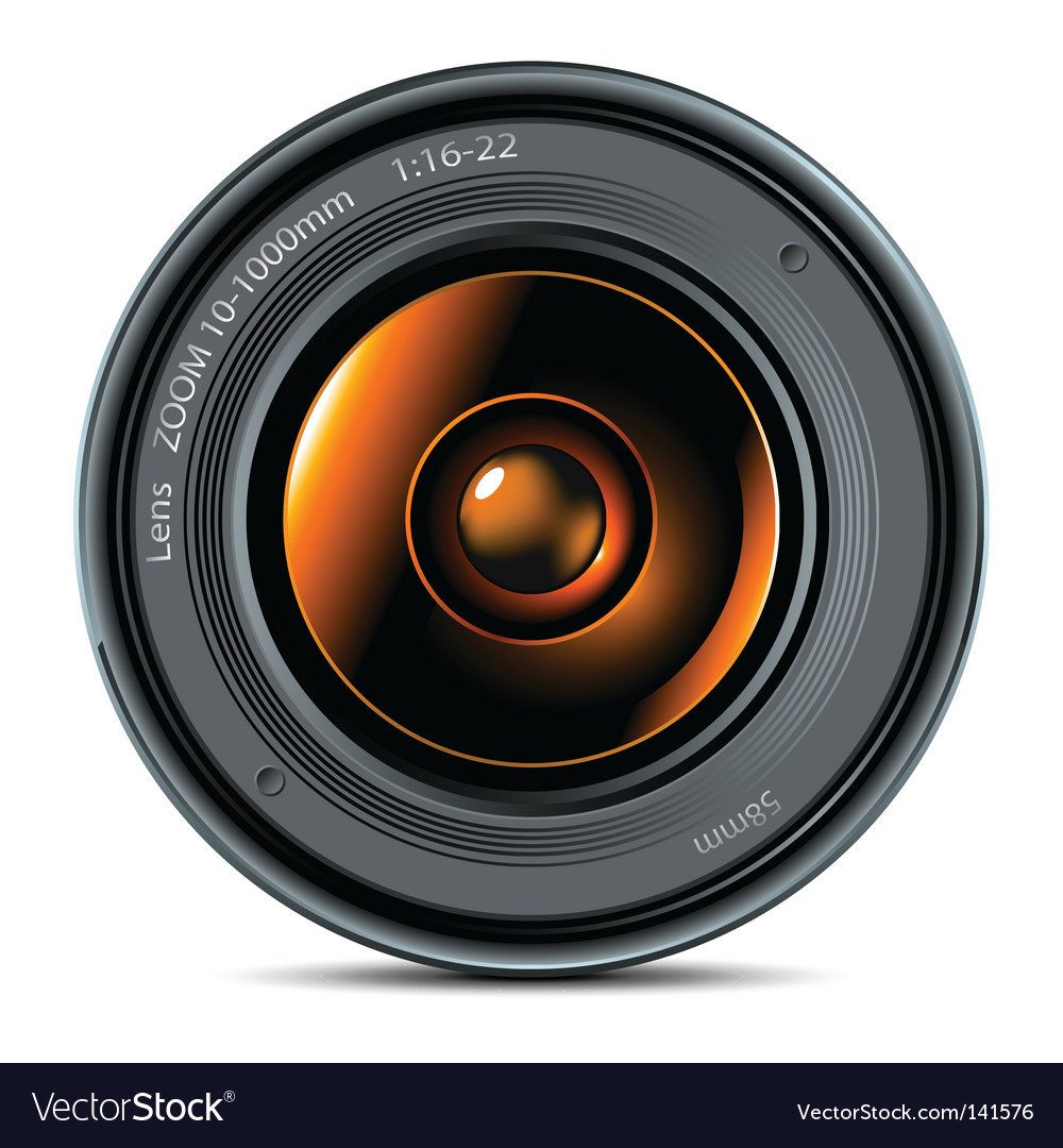 Lens vector | Price: 1 Credit (USD $1)