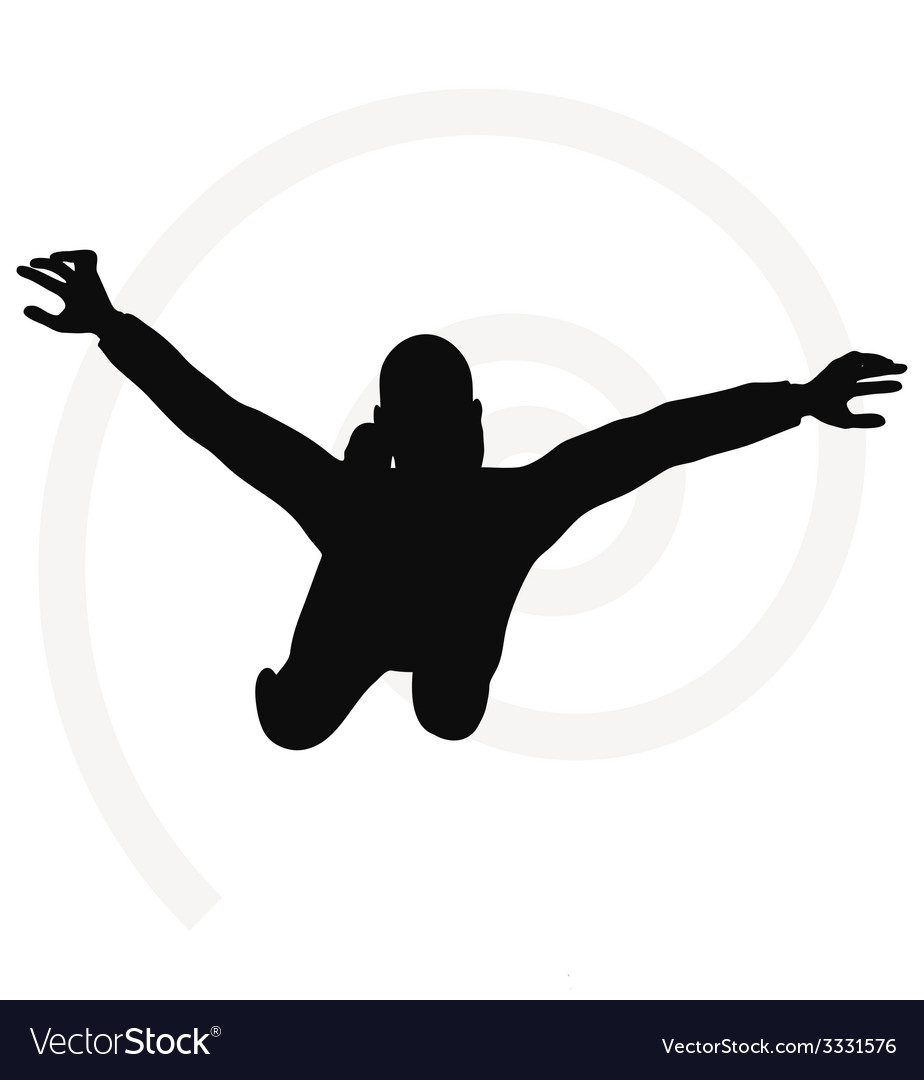 Man silhouette isolated on white background vector   Price: 1 Credit (USD $1)