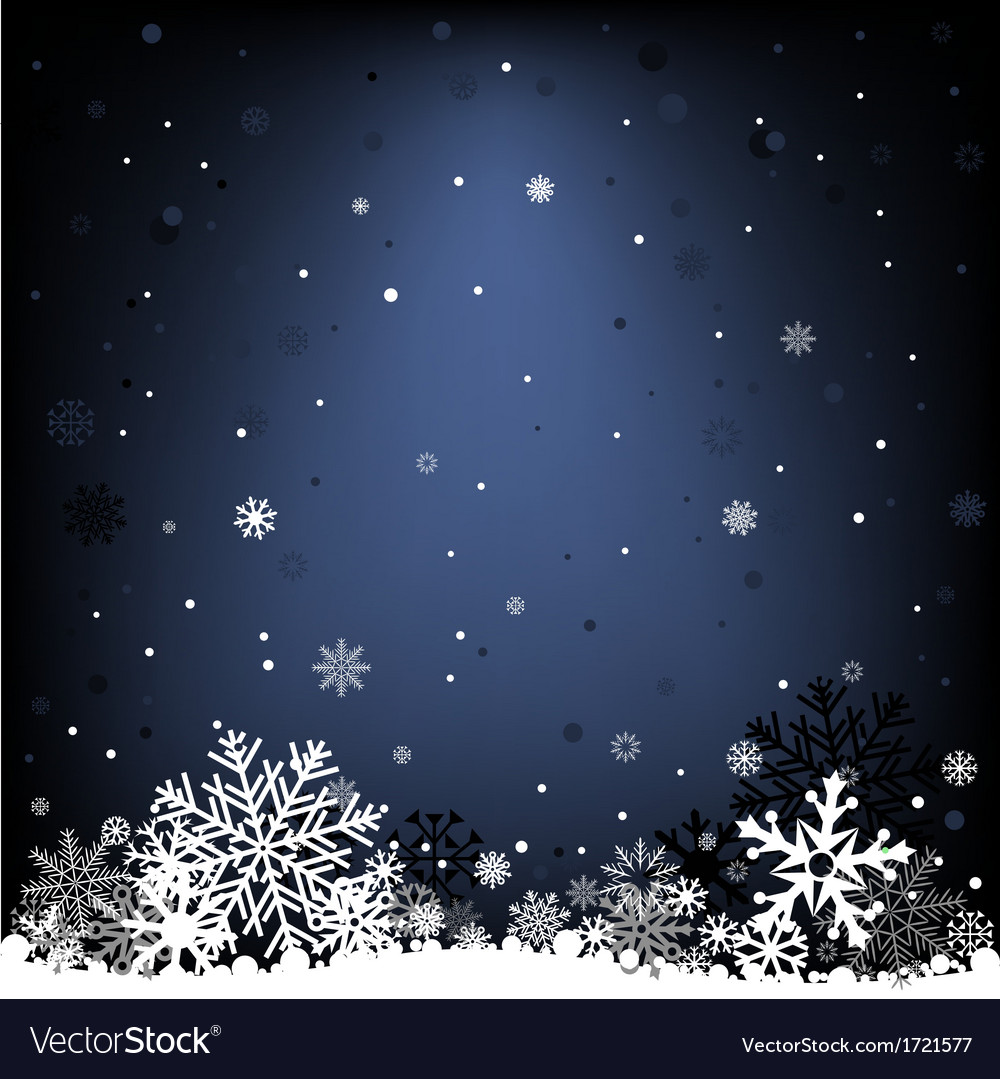 Dark blue snow mesh background vector | Price: 1 Credit (USD $1)