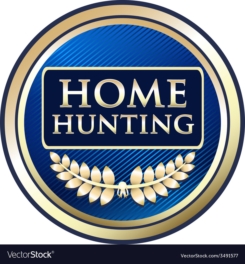 Home hunting vector | Price: 1 Credit (USD $1)