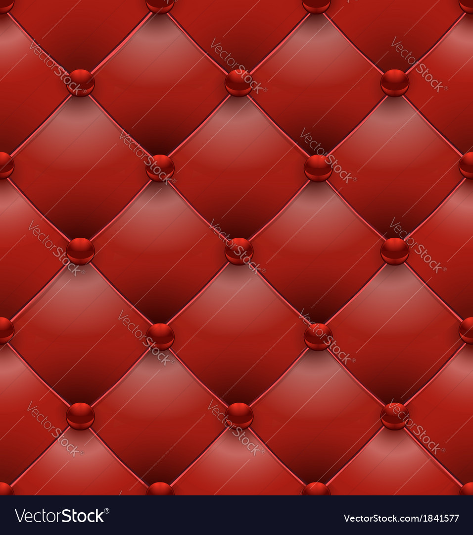Red royal upholstery seamless background vector | Price: 1 Credit (USD $1)