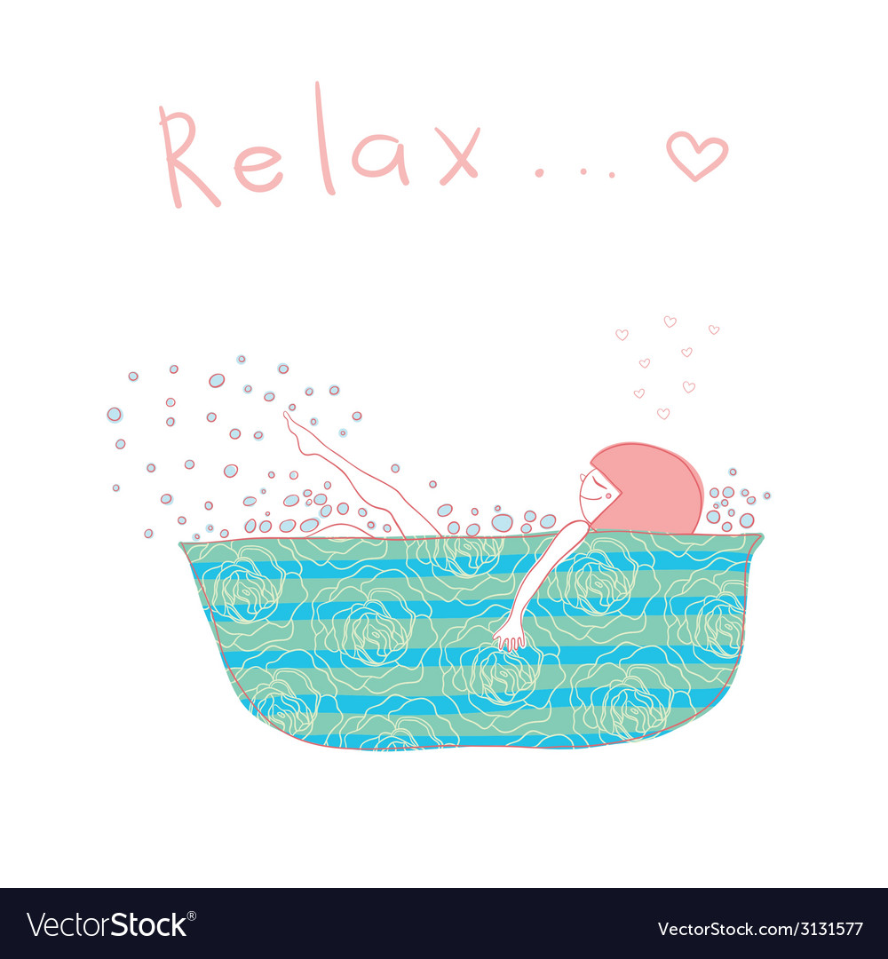 Relax vector | Price: 1 Credit (USD $1)