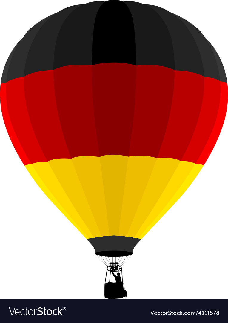 Air balloon vector | Price: 1 Credit (USD $1)