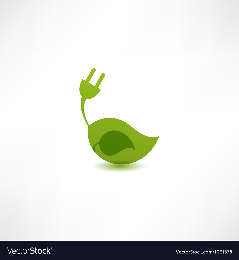 Green energy concept vector | Price: 1 Credit (USD $1)