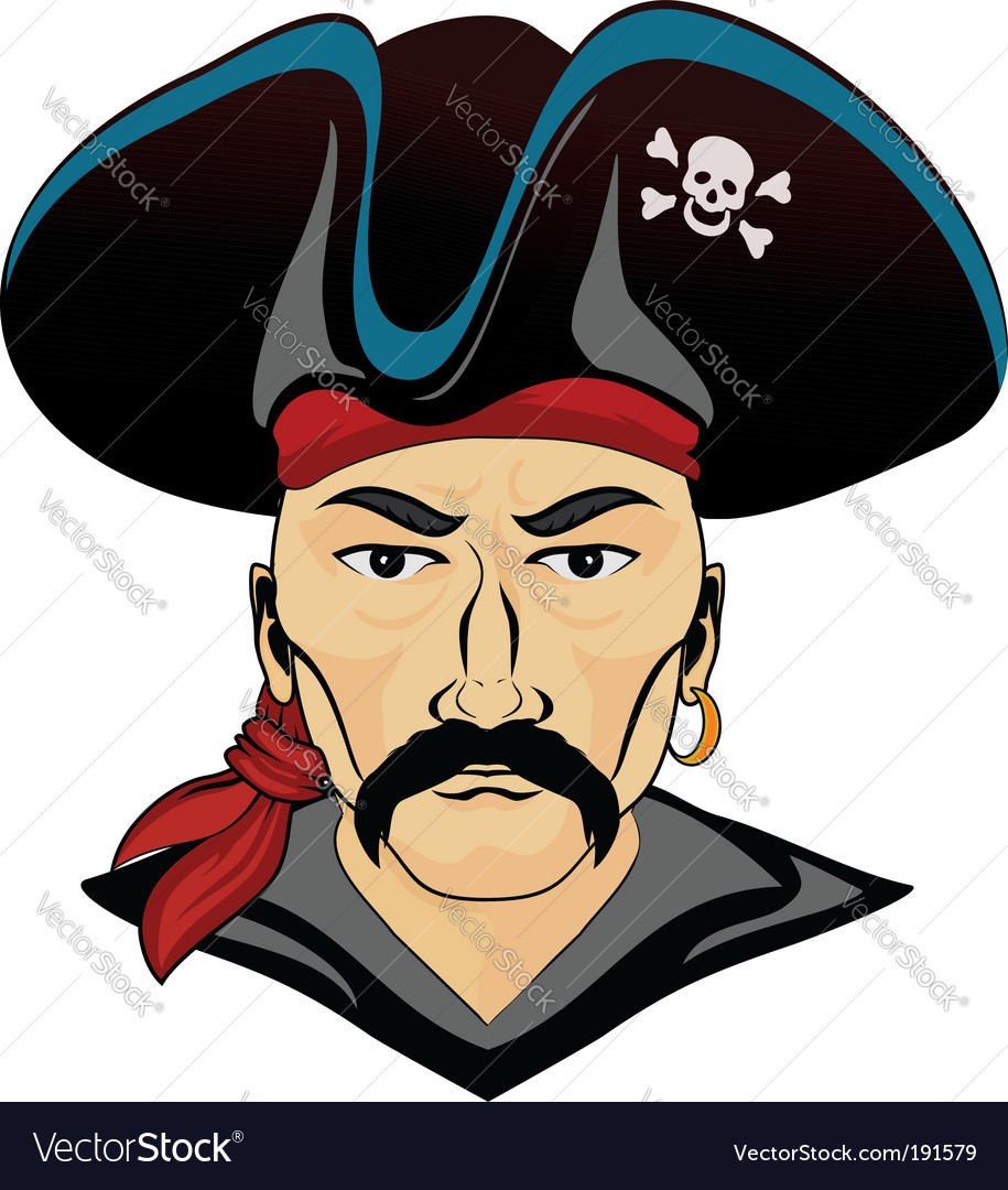 Danger pirate vector | Price: 3 Credit (USD $3)