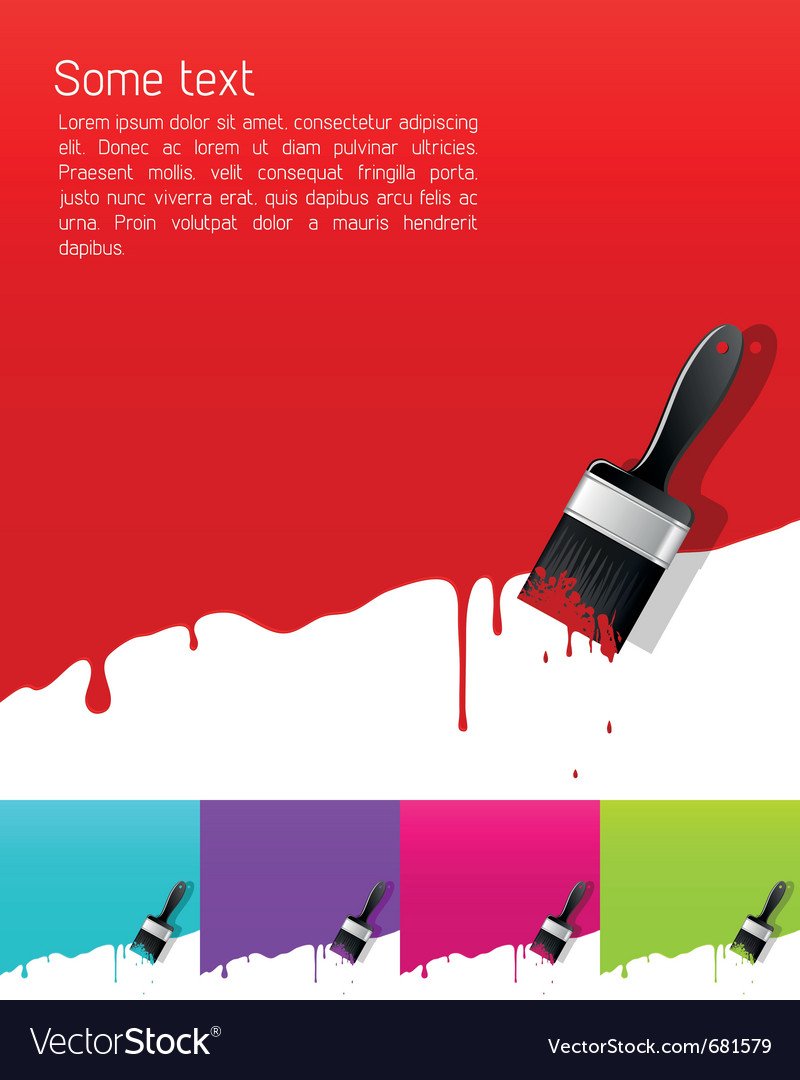 Dripping paint vector | Price: 1 Credit (USD $1)