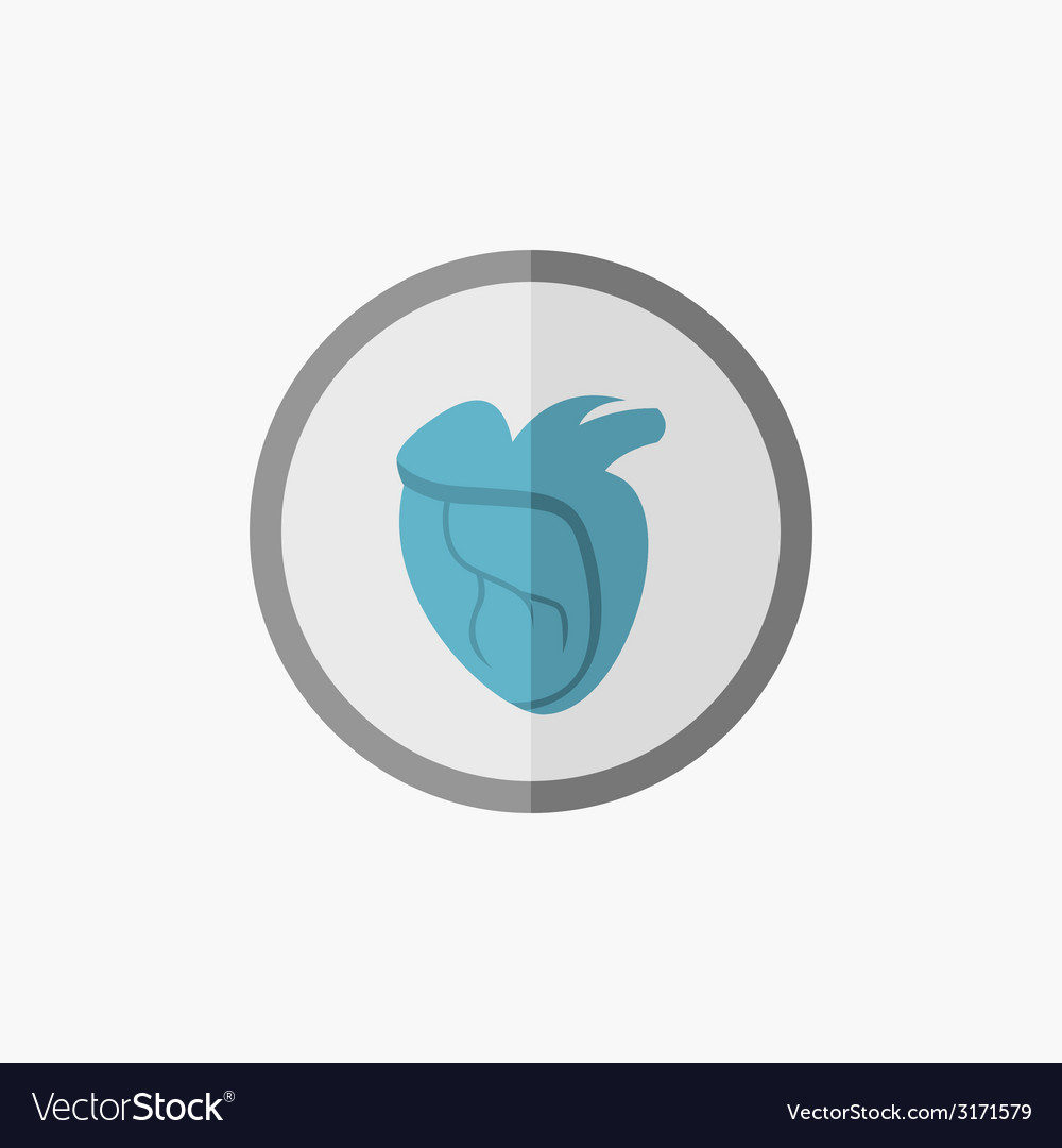 Heart flat icon vector   Price: 1 Credit (USD $1)