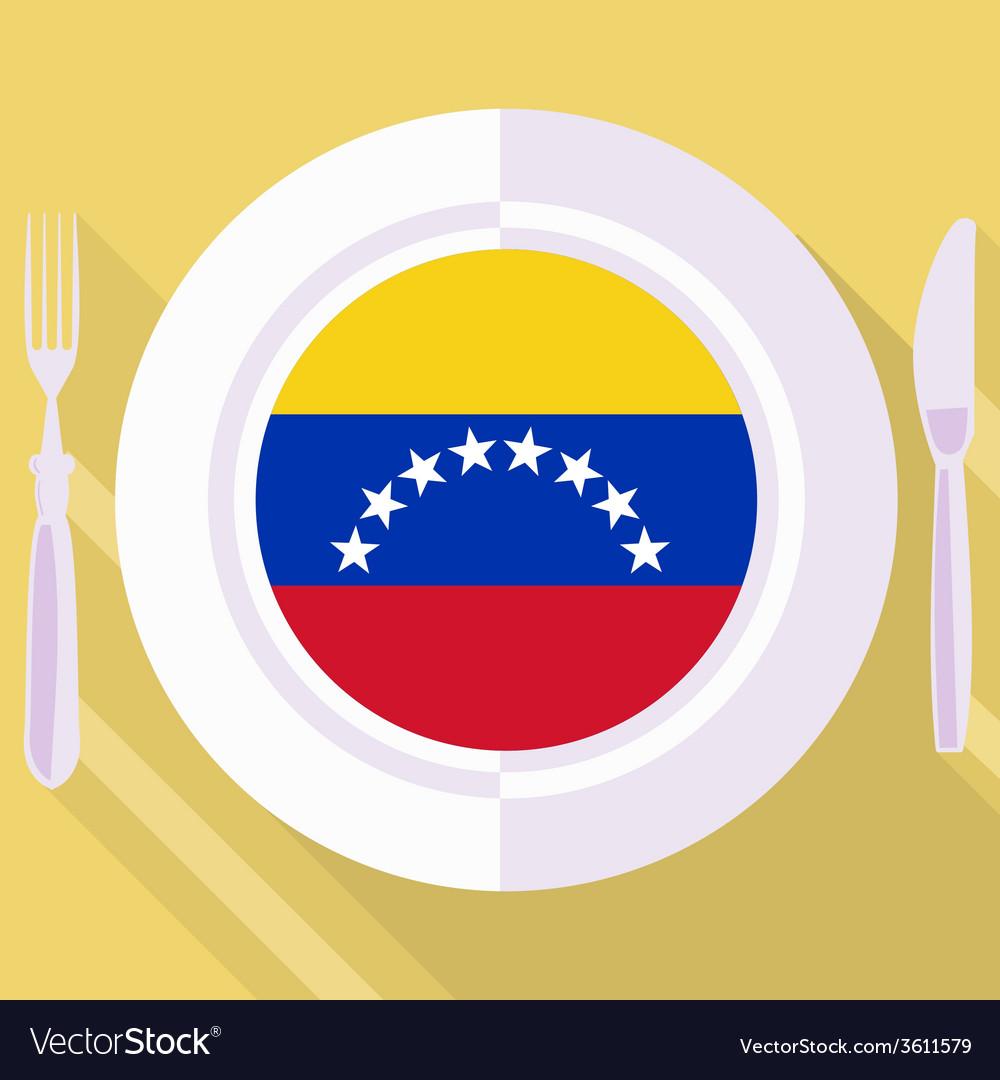Kitchen of venezuela vector | Price: 1 Credit (USD $1)