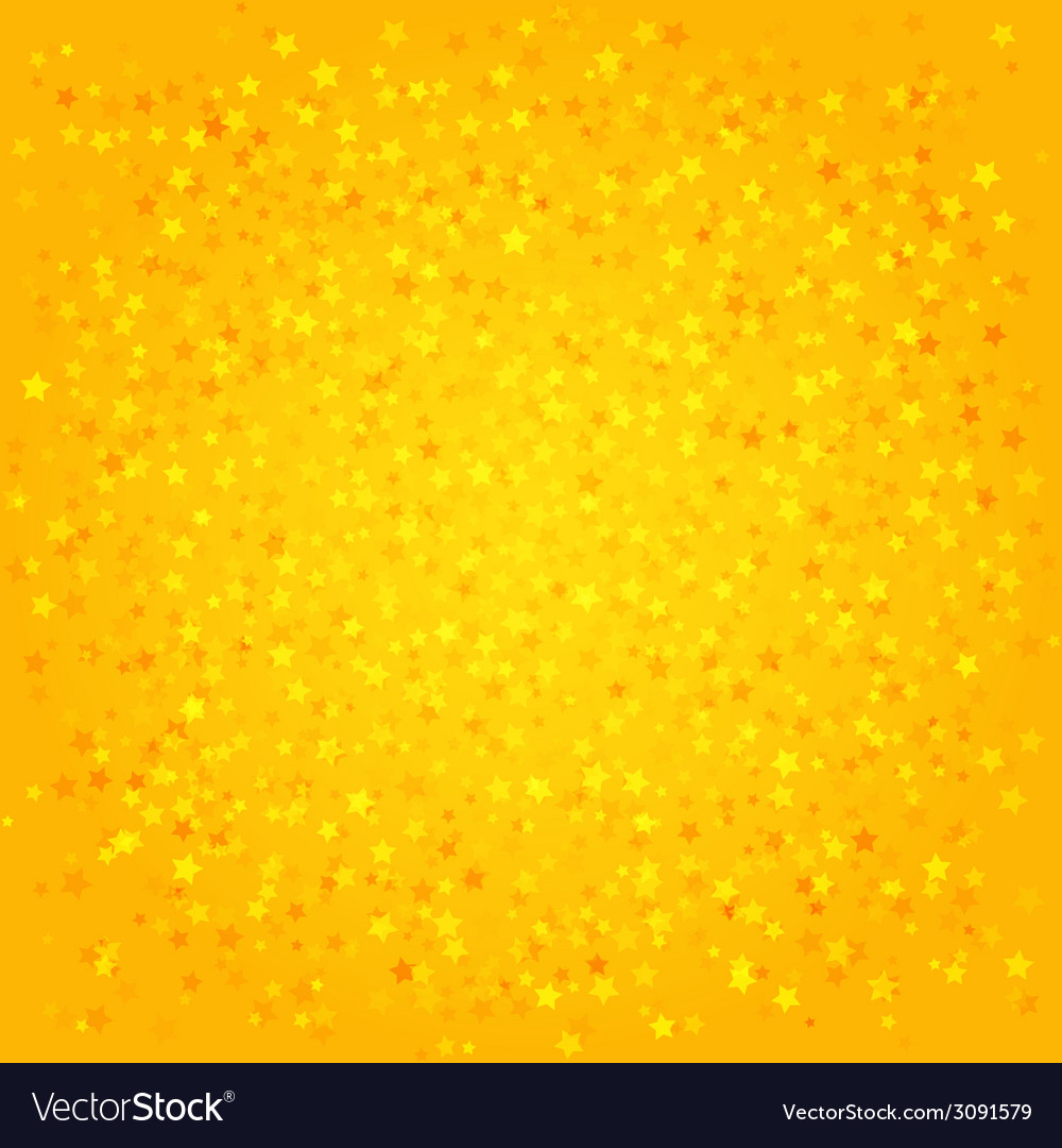 Orange abstract background with stars vector   Price: 1 Credit (USD $1)