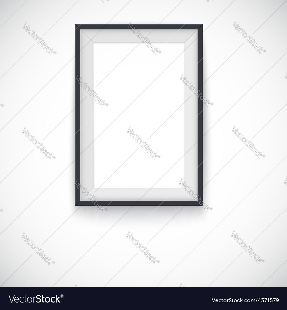 Picture wood frame vertical for image or vector   Price: 1 Credit (USD $1)