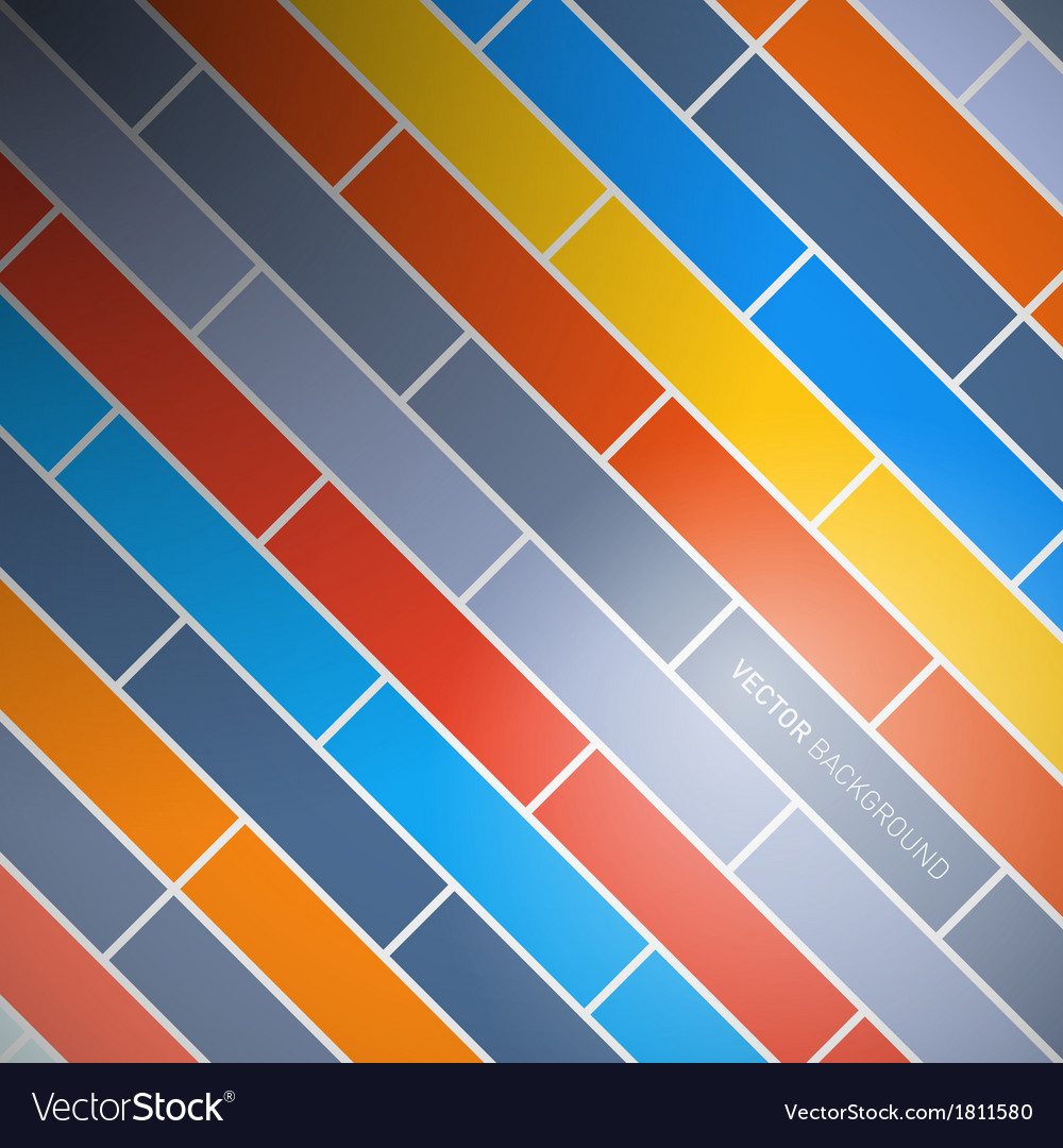 Abstract retro brick background vector | Price: 1 Credit (USD $1)