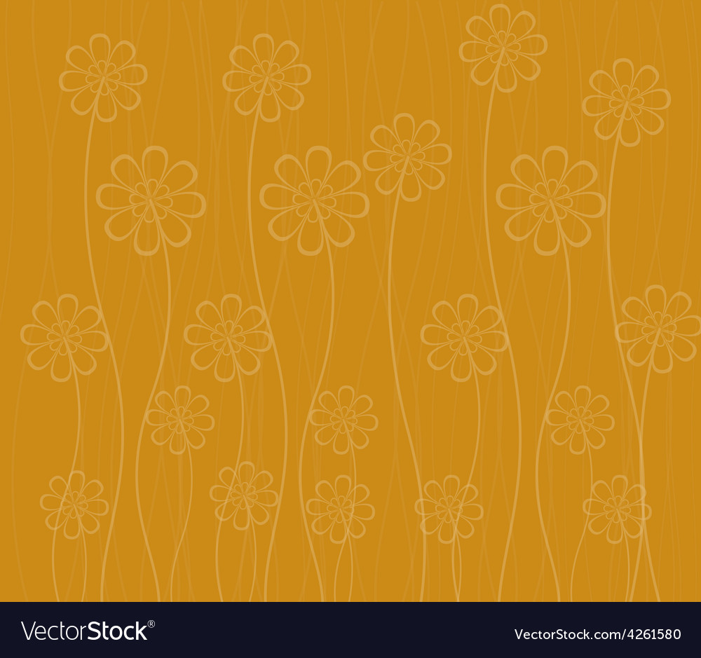 Background with flowers vector | Price: 1 Credit (USD $1)
