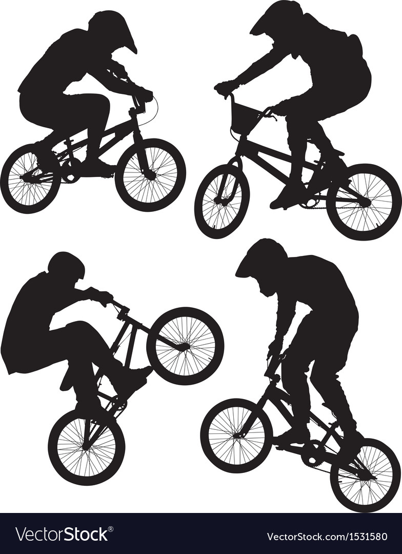 Cycling bmx vector | Price: 1 Credit (USD $1)
