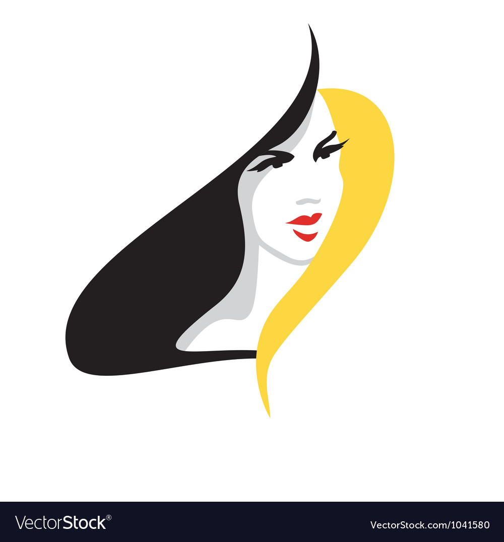 Elegant blonde woman vector   Price: 1 Credit (USD $1)